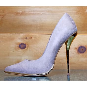Luichiny Mind Blowing Natural Beige Pointy Toe High Heel Pump Shoe