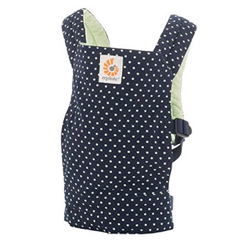 Ergobaby Original Doll Carrier, Indigo Mint Dots