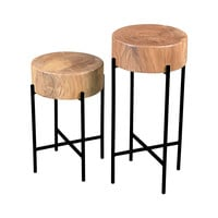 Perched Accent Tables - Set of 2