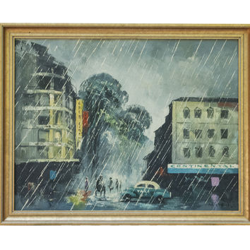 Fine Art Oil on Canvas by MINH Saigon Ho Chi Minh City Viet Nam Framed Painting