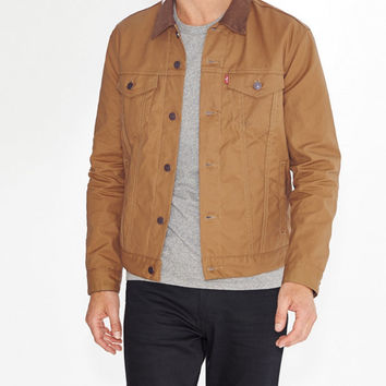 The Canvas Trucker Jacket