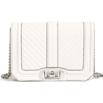Rebecca Minkoff Small Love Chevron Quilted Leather Crossbody Bag | Nordstrom