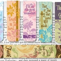 AngelStar Magnetic Bookmarks, Set of 6