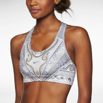 Nike Pro Arctic Monarch Women's Sports Bra - Cool Grey