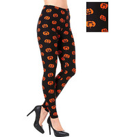 Women's Jack-o'-Lantern Leggings