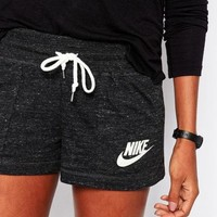 NIKE Trending Women Casual Letter Print Exercise Fitness Gym Yoga Running Shorts I