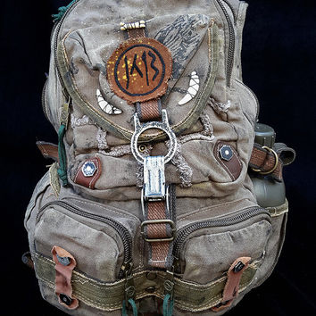 Atomic Slug Deluxe backpack post-apocalyptic mad max fallout