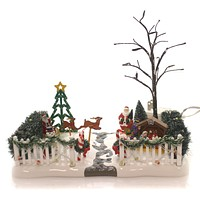 Department 56 Accessory Festive Front Yard Village Lighted Accessory