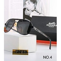 Hermes High-end Atmosphere Personality Trendy Polarized Sunglasses F-A-SDYJ NO.4