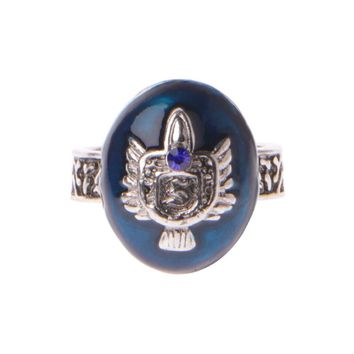 Fashion Vintage Ring Stefan Salvatore Protection Sun Family Crest Rings - Free Shipping