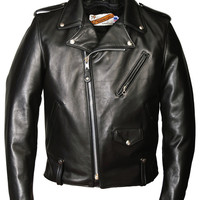 Multi Pocket Perfecto Leather Motorcycle Jacket 125