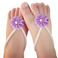 Baby Pearl Shoes, Newborn Shoes
