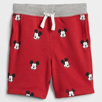 babyGap | Disney Mickey Mouse Pull-On Shorts|gap