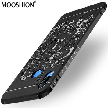 Batman Dark Knight gift Christmas Luxury phone case For Huawei P20 Lite silicone Protective Batman cat bear Skull pattern for huawei P 20 Lite P20 Lite back cover AT_71_6