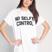 No Selfie Control T-Shirt