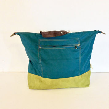 Green backpack, convertible backpack, backpack purse, CONVERTIBLE BACKPACK, faux suede rucksack, strong backpack, convertible rucksack