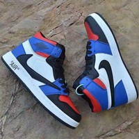 """""""Air Jordan"""" Unisex Casual Fashion Multicolor High Help Plate Shoes Couple Sneakers"""