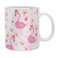 Dash and Ash Jolly Flamingo Coffee Mug