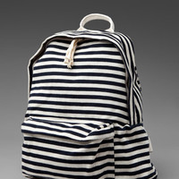 BRANDY & MELVILLE Striped Back Pack in Cream/Navy at Revolve Clothing - Free Shipping!
