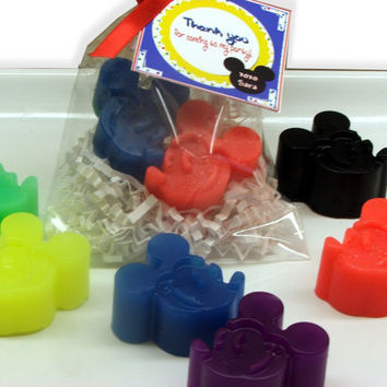 10 Mickey Mouse Inspired Party Favor Soap Sets by SweetbodySoaps