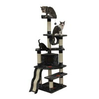 "Kitty Mansions 71"" Shanghai Cat Tree"
