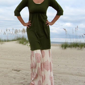 Short Heirloom Dress (hemp/ organic cotton knit)