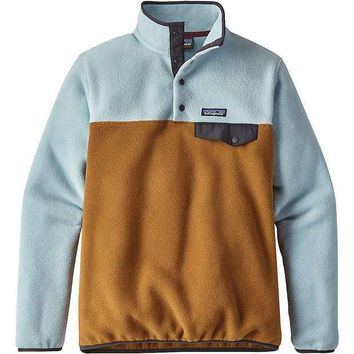 MDIGPL1 Patagonia Women's Lightweight Synchilla Snap-T Pullover