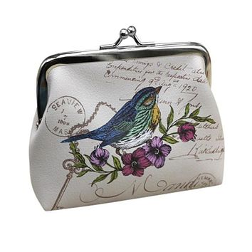 Womens Wallet Card Holder Coin Purse Clutch Handbag