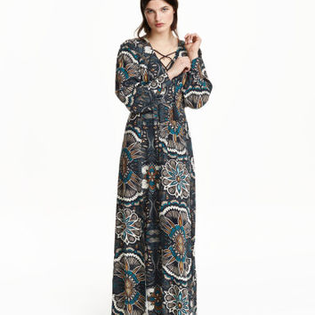 H&M Patterned Maxi Dress $19.99