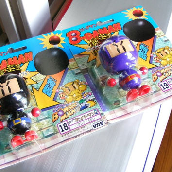Takara 1994 Hudson Soft B-Daman Bomberman 2 No 18 + 19 Model Kit Action Figure