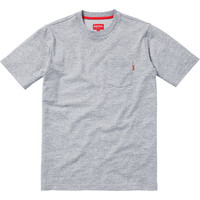 Supreme: Pocket Tee - Heather Grey