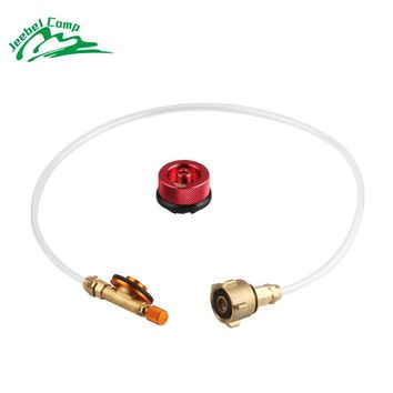2018 New Jeebel outdoor gas refill adapter camping stove valve propane tank refill adapter refilling gas cylinders for gas stove
