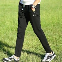 Under Armour Women Men Fashion Casual Stretch Sport Pants Trousers