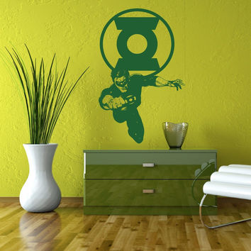 Hal Jordan decal Superheroes stickers Vinyl Stylish Wall Art Sticker 10478