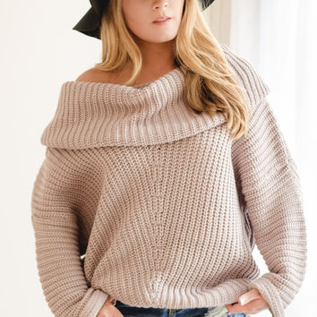 Britt Off the Shoulder Sweater