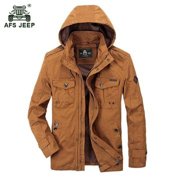 AFS JEEP hooded Jacket