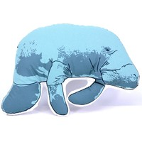 Plush Manatee Pillow