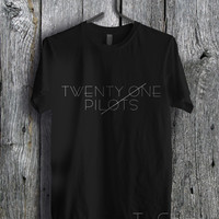 Twenty One Pilots White - zzz Tees Unisex Tees For Man And Woman / T-Shirts / Custom T-Shirts / Tee / T-Shirt