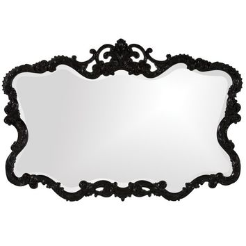 Braeden Traditional Rectangle Wall Mirror