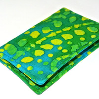 Summer Spritzer Slim Wallet, Credit Card Wallet, Business Card holder, Slim Wallet, Credit card sleeve,Small wallet