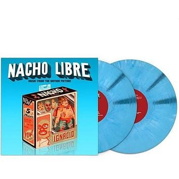 NACHO LIBRE (MUSIC FROM THE MOTION PICTURE) / OST - Nacho Libre (Music from the Motion Picture) - (Colored Vinyl, Blue) (Vinyl)