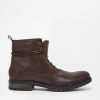 ASOS Workboots in Leather at asos.com
