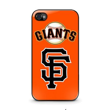 SAN FRANCISCO GIANTS 3 iPhone 4 / 4S Case Cover
