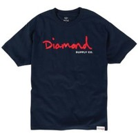 Diamond Supply Co OG Script T-Shirt - Men's at CCS