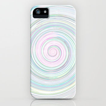 Re-Created Spin Painting No. 24 iPhone & iPod Case by Robert Lee