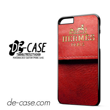 Hermes Red Pattern DEAL-5264 Apple Phonecase Cover For Iphone 6/ 6S Plus
