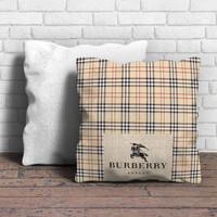 Burberry London Pattern Pillow | Aneend