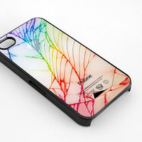 Cracked Out Broken Glass for iphone 4/4s case, iphone 5/5s/5c case, samsung s3/s4 case cover