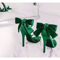 Ankle Strap Butterfly-knot Sandals