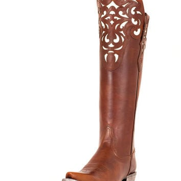 Ariat Women's Hacienda Boot - Vintage Caramel